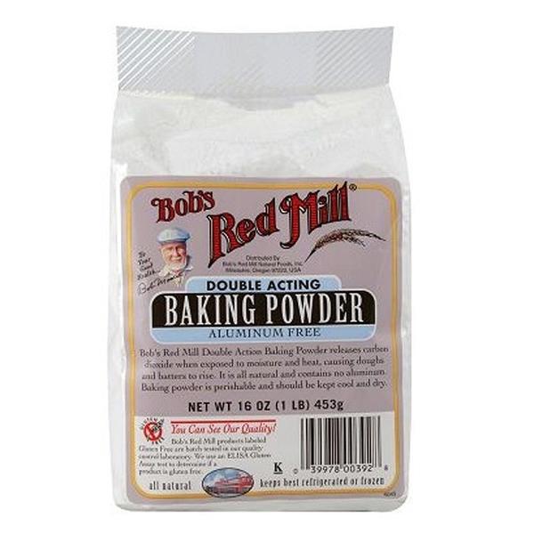 美國Bob's 發粉/無鋁泡打粉(無麩質) Bob's Red Mill Baking Powder (GF) 397g