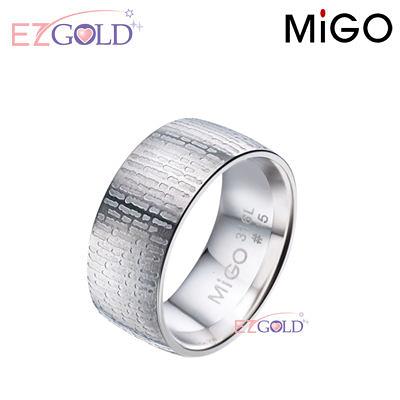 MiGO鋼飾♥情書♥鋼飾戒指(男)