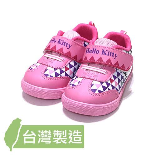【錢豪童裝童鞋】16/18號|三麗鷗Hello Kitty運動鞋