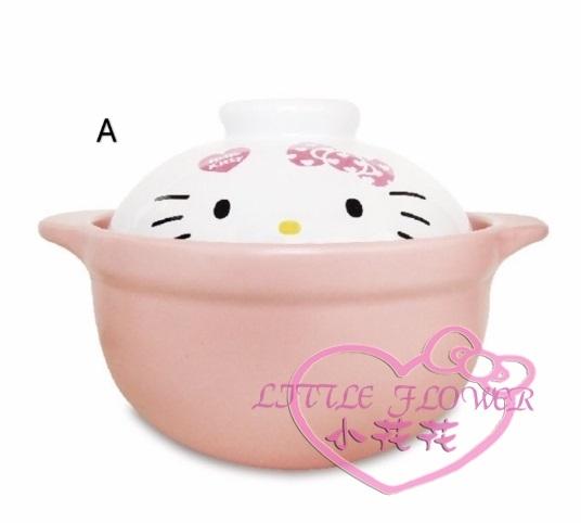 ♥小花花日本精品♥ Hello Kitty 凱蒂貓大臉款式陶瓷鍋2人份1.5L耐熱陶瓷鍋陶鍋23015401