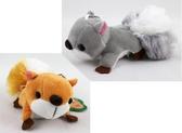【卡漫城】 小松鼠 吊飾 12CM 二色選一 ~ 布偶 絨毛 娃娃 裝飾 玩偶 附珠鍊 掛飾 飛鼠 禮物  鑰匙圈