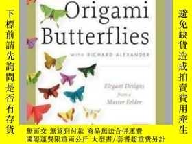 二手書博民逛書店Michael罕見Lafosse s Origami Butterflies(內附DVD光盤2張)Y9636