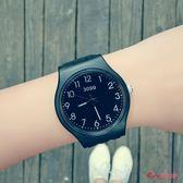 兒童錶 名中小學生手錶女孩防水休閒果凍錶走針韓版石英錶兒童錶潮女可愛 6色