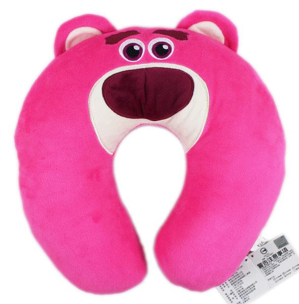 【卡漫城】 熊抱哥 頸枕 ㊣版 U型枕 午休 午安枕 Lotso 玩具總動員 玩偶 車用 造型 頭枕 Toy Story