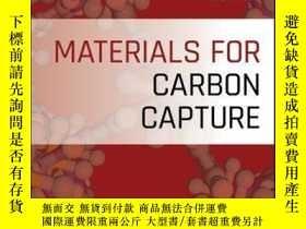二手書博民逛書店Materials罕見for Carbon CaptureY410016 De-en Jiang (Edit.