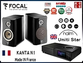 『門市現貨』法國製 Focal Kanta N°1 喇叭 + Naim Uniti STAR 綜合擴大機 ~ 公司貨
