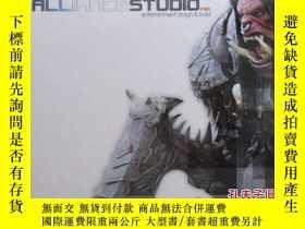 二手書博民逛書店the罕見art of alliance studio(英文原版