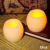 蠟燭 橢圓行led電子蠟燭燈酒吧會所裝飾仿真電子蠟燭套裝 DJ2868『易購3c館』