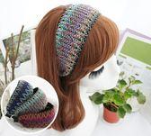 UNICO 波西米亞民族風寬髮箍/髮飾-三色可選