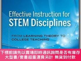 二手書博民逛書店預訂Effective罕見Instruction For Stem Disciplines: From Learn