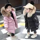 【雙十二】預熱女童棉衣2018新款洋氣中長款2女寶寶羽絨棉服冬裝4外套1-3歲棉襖5  巴黎街頭