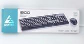 WiNTEK 文鎧 1800KM  無線鍵鼠組 滑鼠 鍵盤