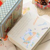 收納盒歐式復古長方形禮品盒 zakka鐵盒 餅干盒 針線盒 桌面