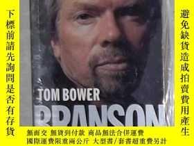 二手書博民逛書店英文原版罕見Branson by Tom Bower 著Y140