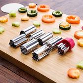 彩色動物饅頭模具壓花刀水果蔬菜串切花器        蜜拉貝爾