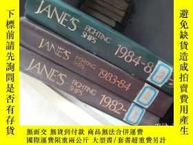 二手書博民逛書店JANE S罕見Fighting Ships 1982-1985