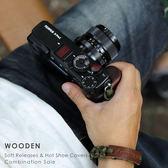 SHINE AWAY 印度紫檀木 快門鈕 熱靴蓋 木 相機 富士 FUJI Leica SONY 實木 原木 木頭