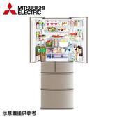 【MITSUBISHI三菱】525公升變頻六門冰箱MR-JX53C