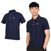 KAPPA 男短袖POLO衫(高爾夫 網球 羽球 上衣 台灣製 免運 ≡排汗專家≡
