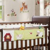 嬰兒床上用品掛袋尿布袋收納袋可愛卡通花型床邊掛袋儲物袋igo 嬡孕哺