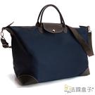 托特包-法國盒子.經典休閒輕量手提行李袋(共二色)3109#