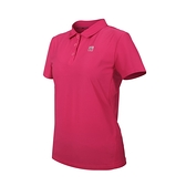 FIRESTAR 女彈性機能短袖POLO衫(運動 慢跑 路跑 上衣 涼感 高爾夫 反光 免運 ≡排汗專家≡