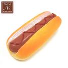 番茄醬款【日本進口】熱狗麵包 捏捏吊飾 吊飾 捏捏樂 軟軟 cafe de n squishy 捏捏 - 617521