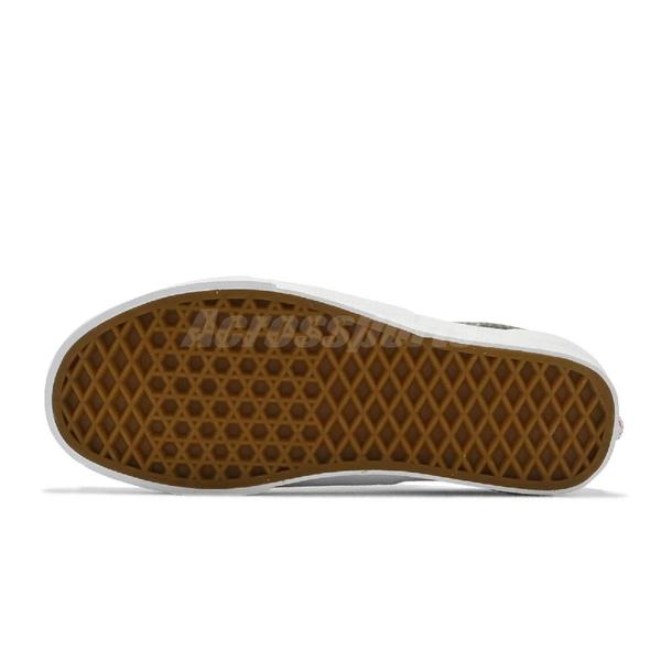 Vans Era 休閒鞋 米白 綠 MIX MATCH 系列 棋盤格 文字 男女鞋 基本款【ACS】 VN0A4BV41UA