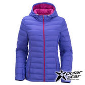 PolarStar 女 超輕連帽羽絨外套 『紫』P15236