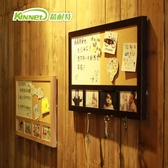 精耐特掛式留言板軟木板家用辦公磁性板書寫白板圖釘便簽記事照片 HM 范思蓮恩