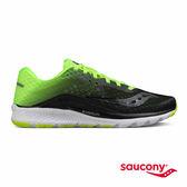 SAUCONY KINVARA 8 專業訓練鞋款-黑X螢光綠