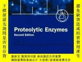 二手書博民逛書店Proteolytic罕見Enzymes: A Practical Approach- 白水解酶:一種實用的方法奇