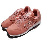 New Balance 復古慢跑鞋 373 NB 橘紅 白 皮革 復古 運動鞋 女鞋【PUMP306】 WL373PIRB