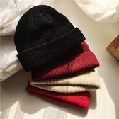 年終大促韓國街頭潮人網紅短版針織帽子女 冬季男士毛線帽潮流情侶包頭帽 熊貓本