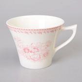 【Luzerne】陸升瓷器  Lancaster 170ml茶杯-粉 /LC1434015