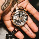 BOMBERG 炸彈錶 BOLT-68 深棕計時手錶- 45mm BS45CHPBRBA.050-2.3