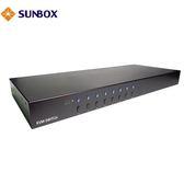 8埠 KVM切換器(SK-1508) - SUNBOX