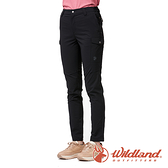 【wildland 荒野】女 彈性CORDURA 抗UV功能長褲『黑色』0A91337 戶外 休閒 運動 吸濕 排汗 快乾