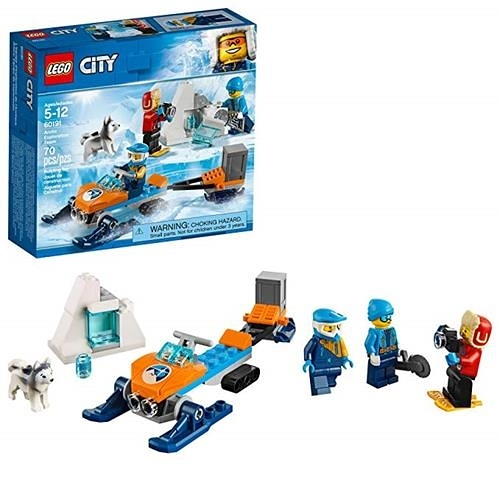 LEGO 樂高 City Arctic Exploration Team 60191 Building Kit (70 Piece)