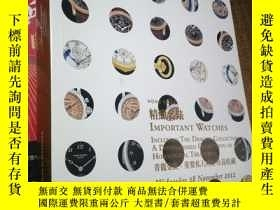 二手書博民逛書店CHRISTIE S罕見HONG KONG IMPORTANT WATCHES WEDNESDAY 28 NOVE