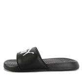 Puma Popcat [360265-10] 男女 涼鞋 拖鞋 時尚 必備 舒適 緩震 輕量 黑白