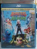 挖寶二手片-Q00-519-正版BD【怪獸大戰外星人 3D亦可觀賞2D版】-藍光動畫