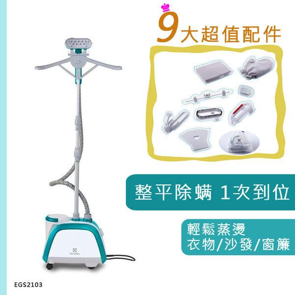 《送衣物防塵套x2》【Electrolux伊萊克斯】Ergo Steam 掛燙機蒸氣電熨斗 (EGS2103)