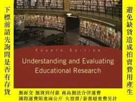 二手書博民逛書店Understanding罕見And Evaluating Educational Research (4th E