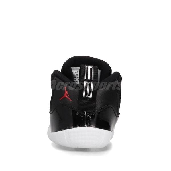 Nike Air Jordan 11 Retro Crib Bootie 黑 紅 童鞋 小童鞋 幼童 籃球鞋 運動鞋【ACS】 CI6165-061