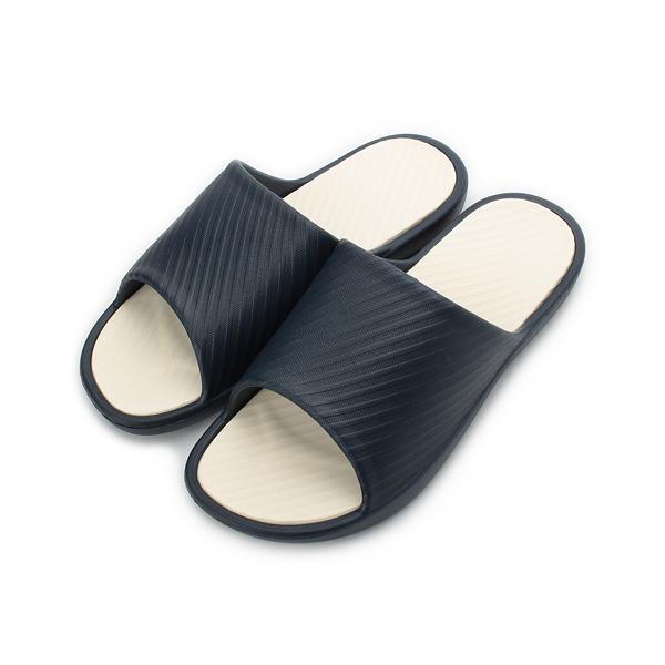 SLIPA 親膚輕柔室內拖鞋 藍 M98 男鞋 鞋全家福