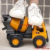 加厚耐摔兒童工程車套裝挖掘機玩具車仿真模型挖機攪拌車吊車【齊心88】