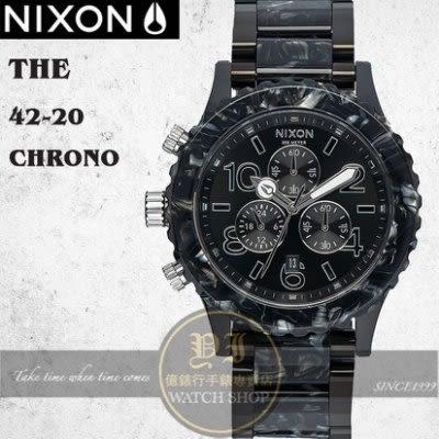 NIXON 實體店The 42-20 Chrono潛水腕錶A037-2185公司貨/極限運動/衝浪/潮流
