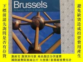 二手書博民逛書店32開英文原版罕見Time Out Brussels Guide : Antwerp, Ghent, and Br