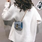 小清新鍊條小包包女新款側背迷你小方包百搭時尚斜背小包新年禮物